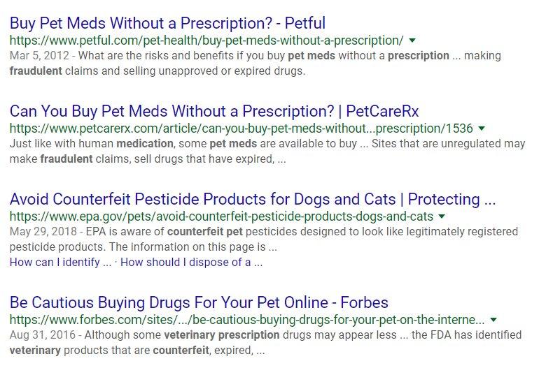 pet pharmacies safe